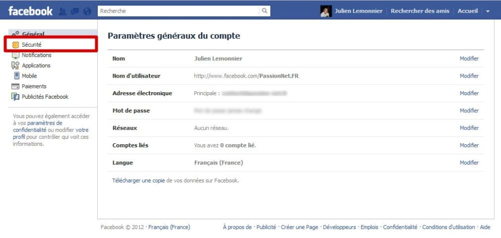 Sécuriser Facebook : le guide #3
