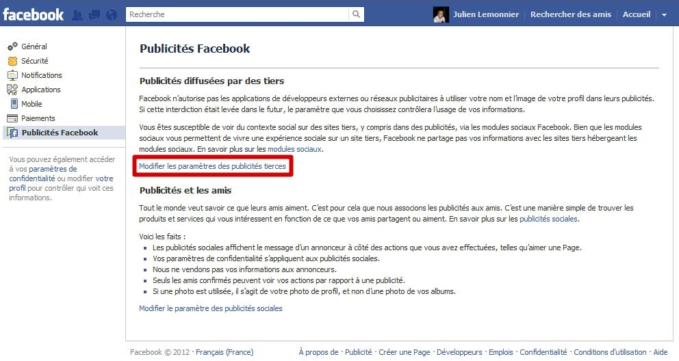 Sécuriser Facebook : le guide #19