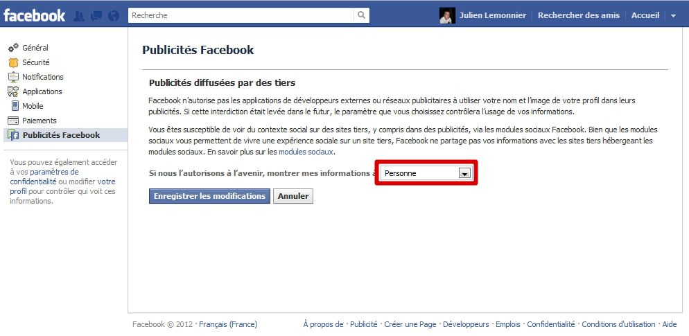 Sécuriser Facebook : le guide #20